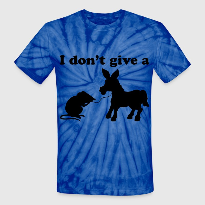I DON'T GIVE A DONKEY ASS T-Shirts - Unisex Tie Dye T-Shirt