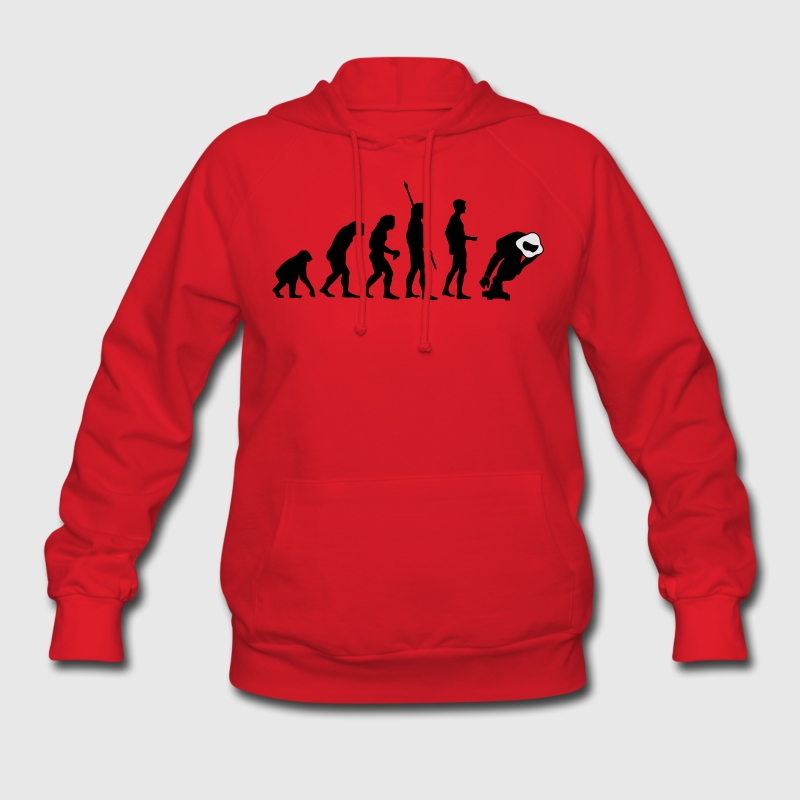 Evolution Downhill Skateboard Longboard Skater Hoodies - Women's Hoodie