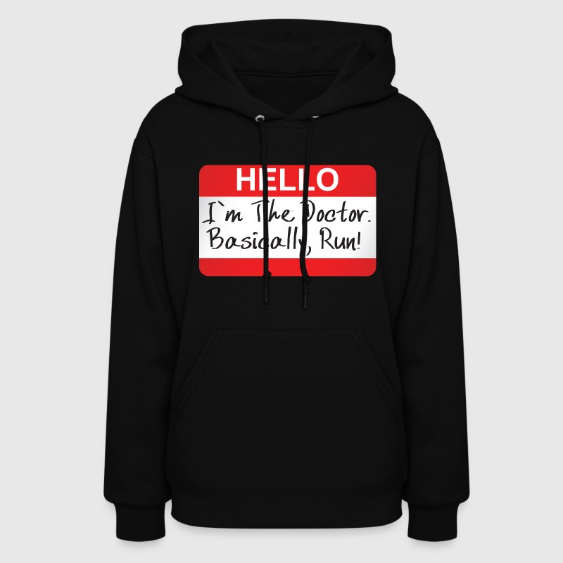 Doctor Who - Hello I'm The Doctor Hoodies - Women's Hoodie