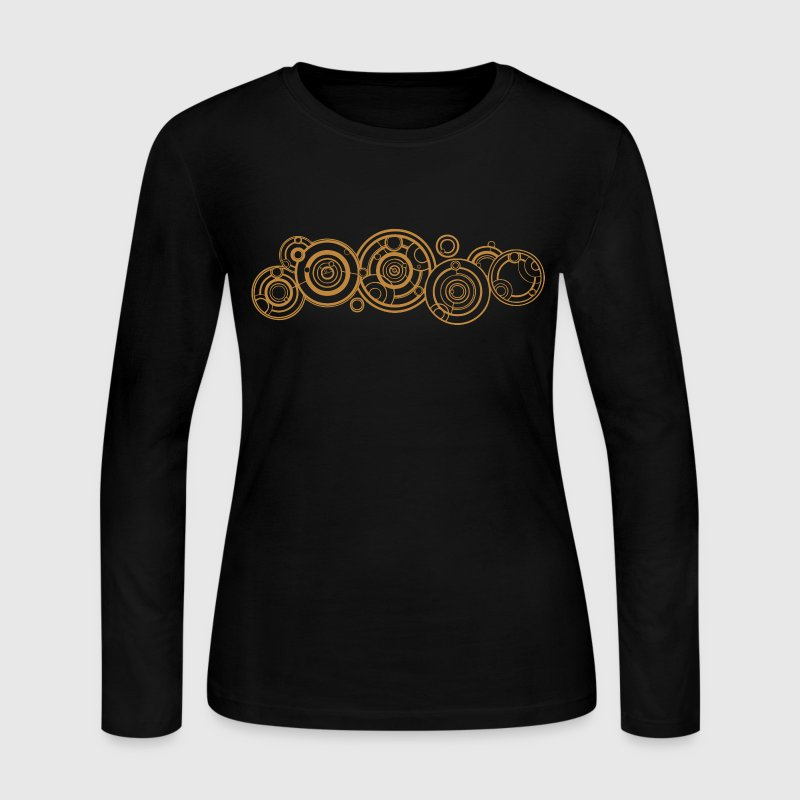 Doctor Who Gallifrey Name Long Sleeve Shirts - Women's Long Sleeve Jersey T-Shirt