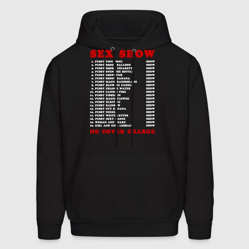 Bangkok Red Light Ping Pong Sex Show - Men's Hoodie