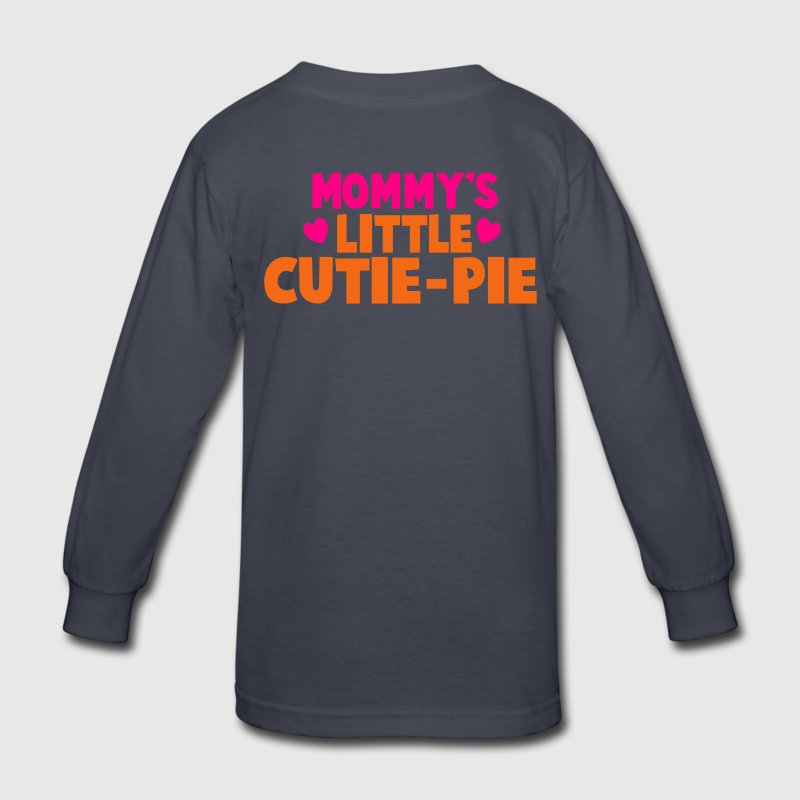 MOMMY's LITTLE CUTIE-PIE Kids' Shirts - Kids' Long Sleeve T-Shirt