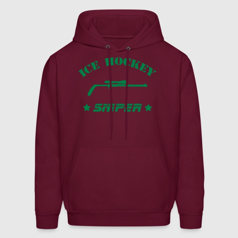 Ice Hockey Sniper Hoodies - Men's Hoodie