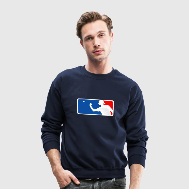 Major League Beer Pong Long Sleeve Shirts - Crewneck Sweatshirt