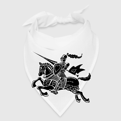 The Knight of Love Buttons - Bandana