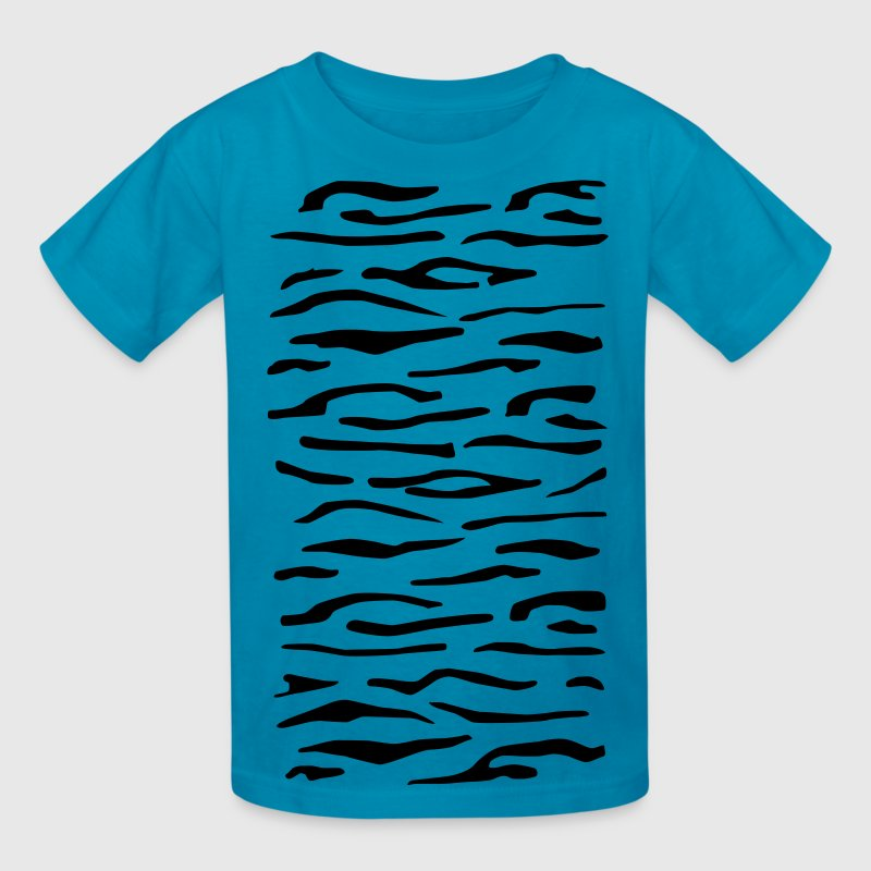 Tiger Stripes Children's T-Shirt - Kids' T-Shirt