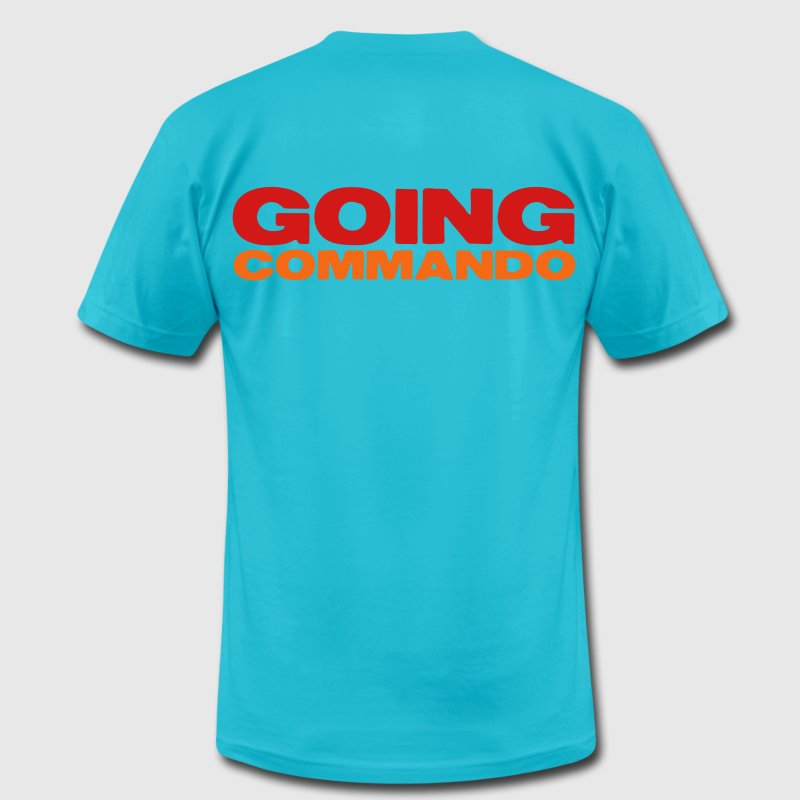 GOIng commando (going with no underwear?) T-Shirts - Men's Fine Jersey T-Shirt