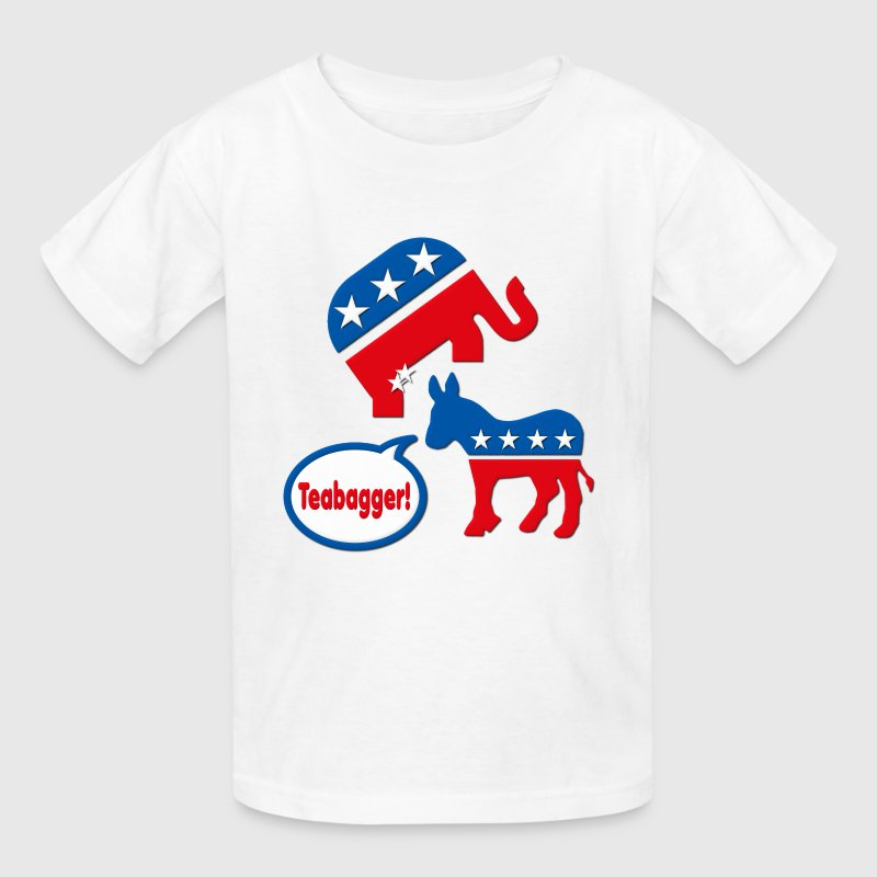 Teabagger Republican Tea Party Kids' Shirts - Kids' T-Shirt