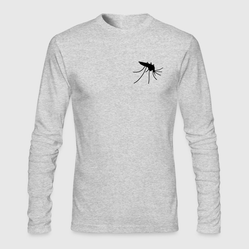 mosquito gnat midge punkie insects bug fly wings Long Sleeve Shirts - Men's Long Sleeve T-Shirt by Next Level