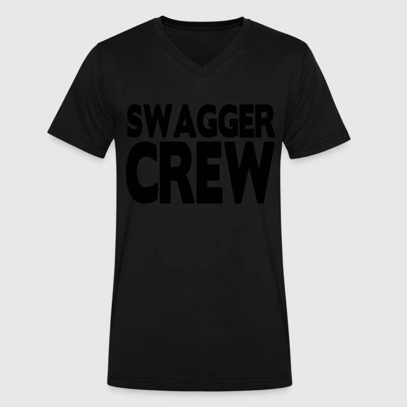 SWAGGER CREW T-Shirts - Men's V-Neck T-Shirt by Canvas
