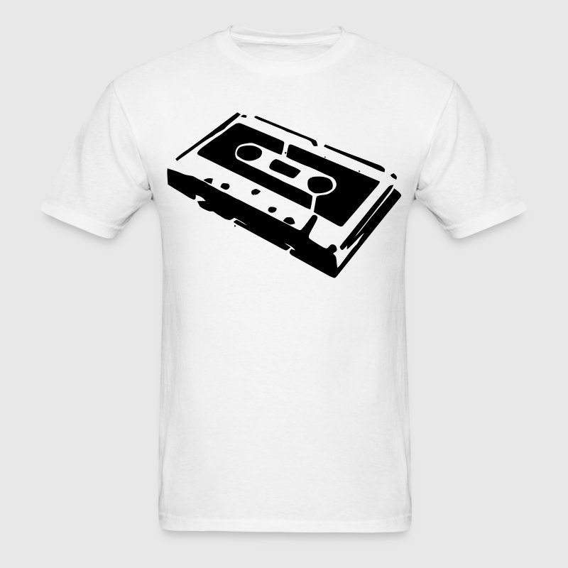 An audio cassette tape for those that love music mix tapes T-Shirts - Men's T-Shirt