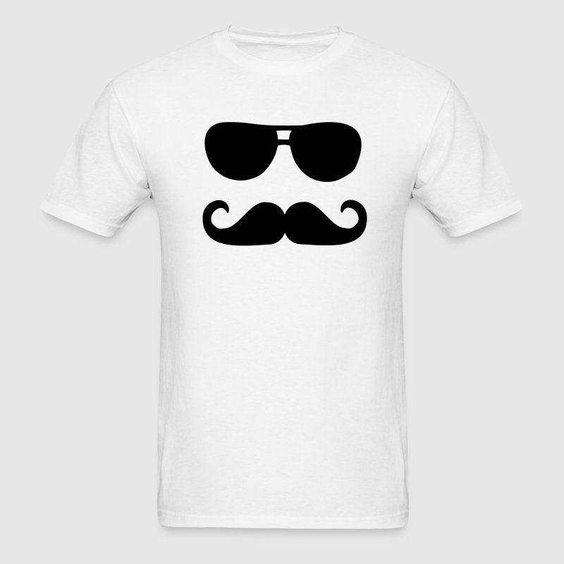 Mustache sunglasses T-Shirts - Men's T-Shirt