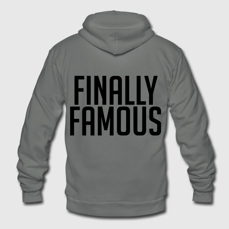 Finally Famous Zip Hoodies/Jackets - stayflyclothing.com  - Unisex Fleece Zip Hoodie by American Apparel