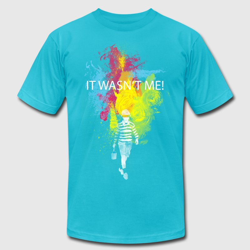 It wasn't me! T-Shirts - Men's Fine Jersey T-Shirt
