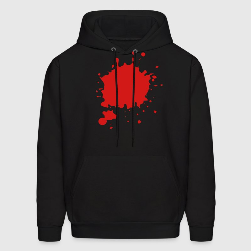 Blood / Ink / Graffiti Splatter Vector Hoodies - Men's Hoodie