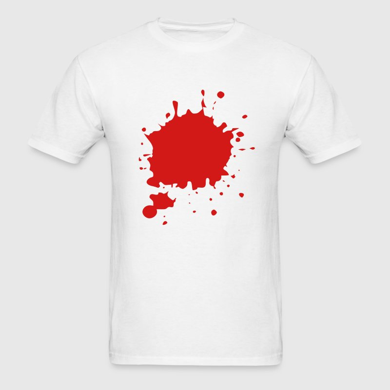 Blood / Ink / Graffiti Splatter Vector Kids' Shirts - Men's T-Shirt