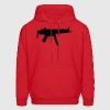 MP5 / Rifle / Military Vector Design Hoodies - Men's Hoodie