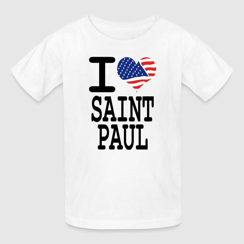 i love saint paul Kids' Shirts - Kids' T-Shirt