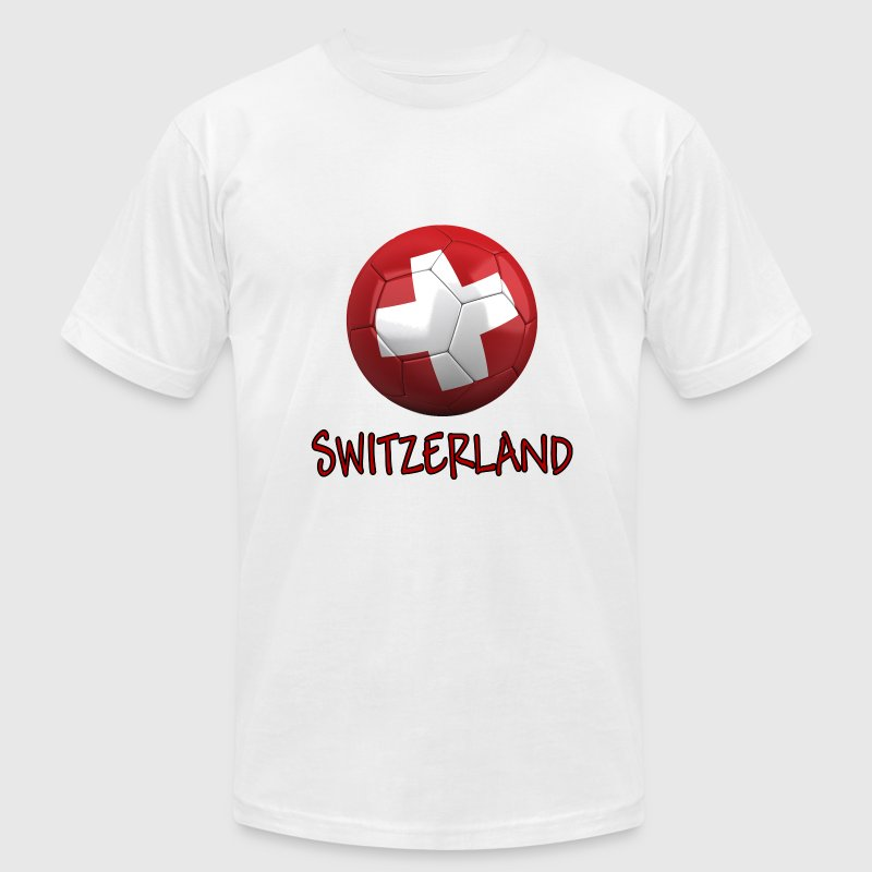 Team Switzerland FIFA World Cup T-Shirts - Men's T-Shirt by American Apparel