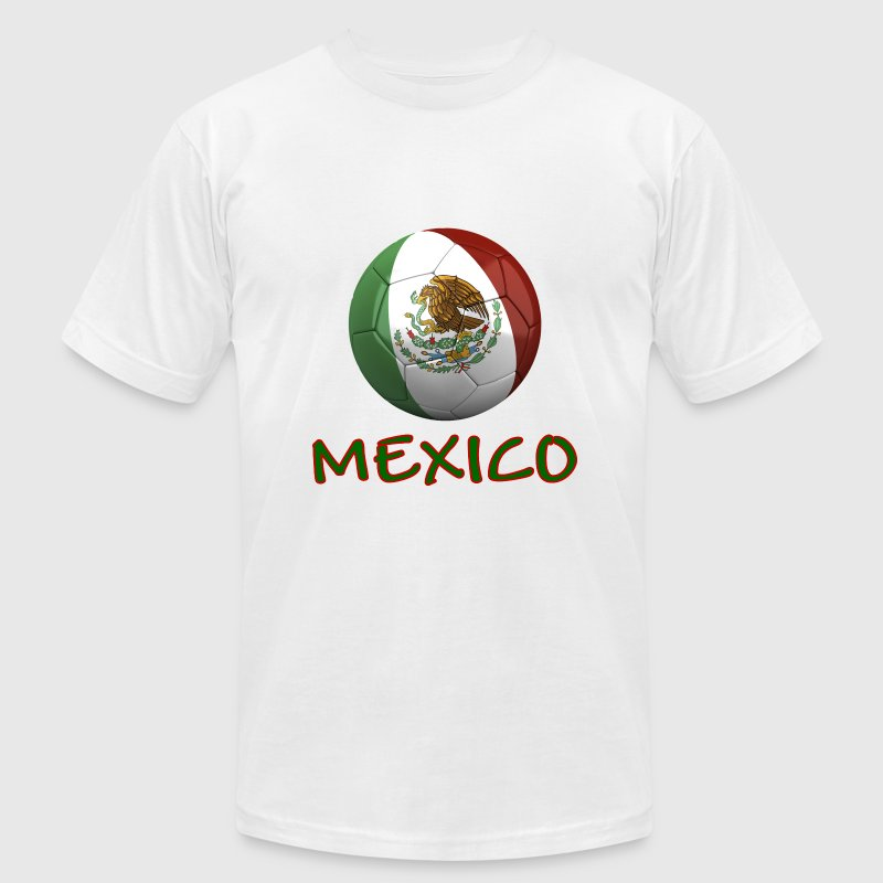 Team Mexico FIFA World Cup T-Shirts - Men's T-Shirt by American Apparel