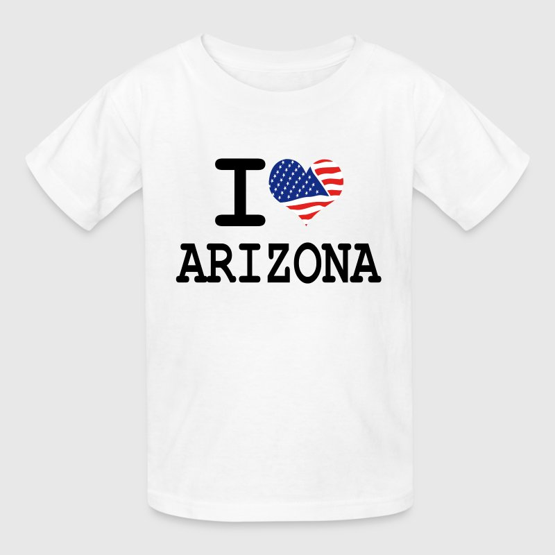 i love arizona Kids' Shirts - Kids' T-Shirt