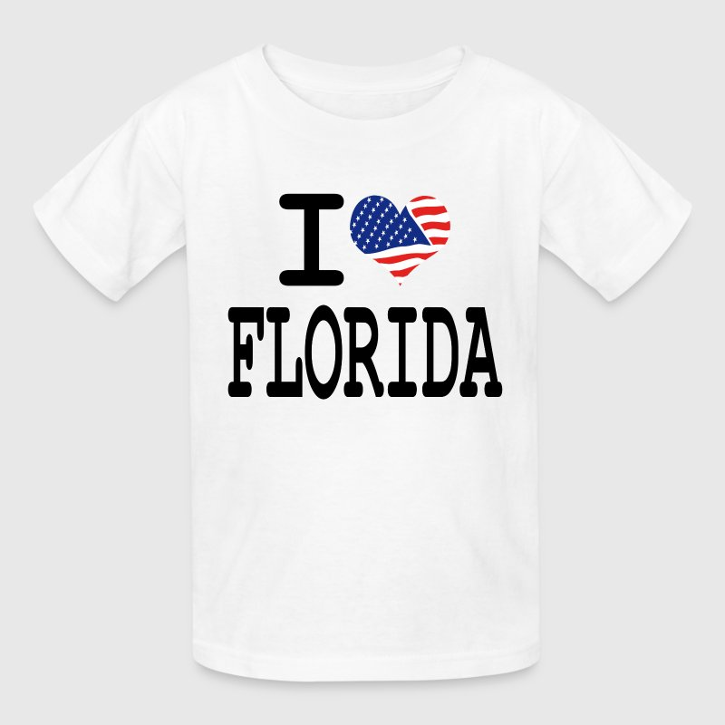 i love florida Kids' Shirts - Kids' T-Shirt
