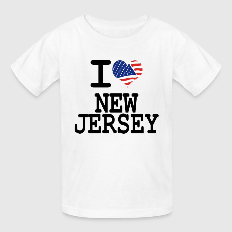 i love new jersey Kids' Shirts - Kids' T-Shirt