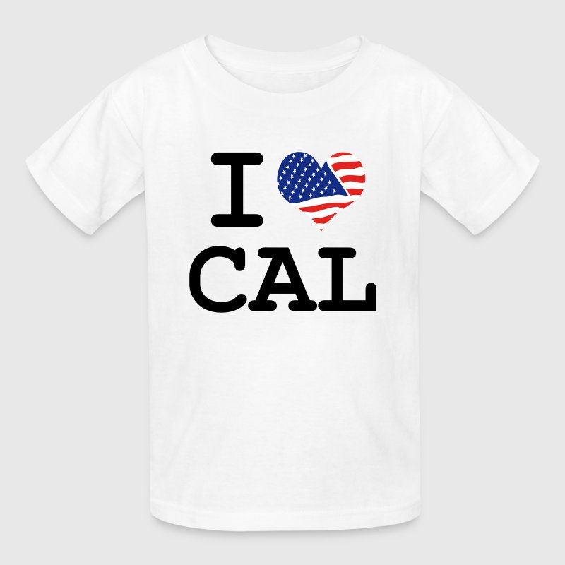 i love Cal - California Kids' Shirts - Kids' T-Shirt