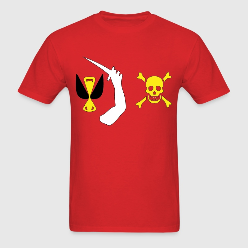 Christopher Moody Pirate Flag T-Shirts - Men's T-Shirt