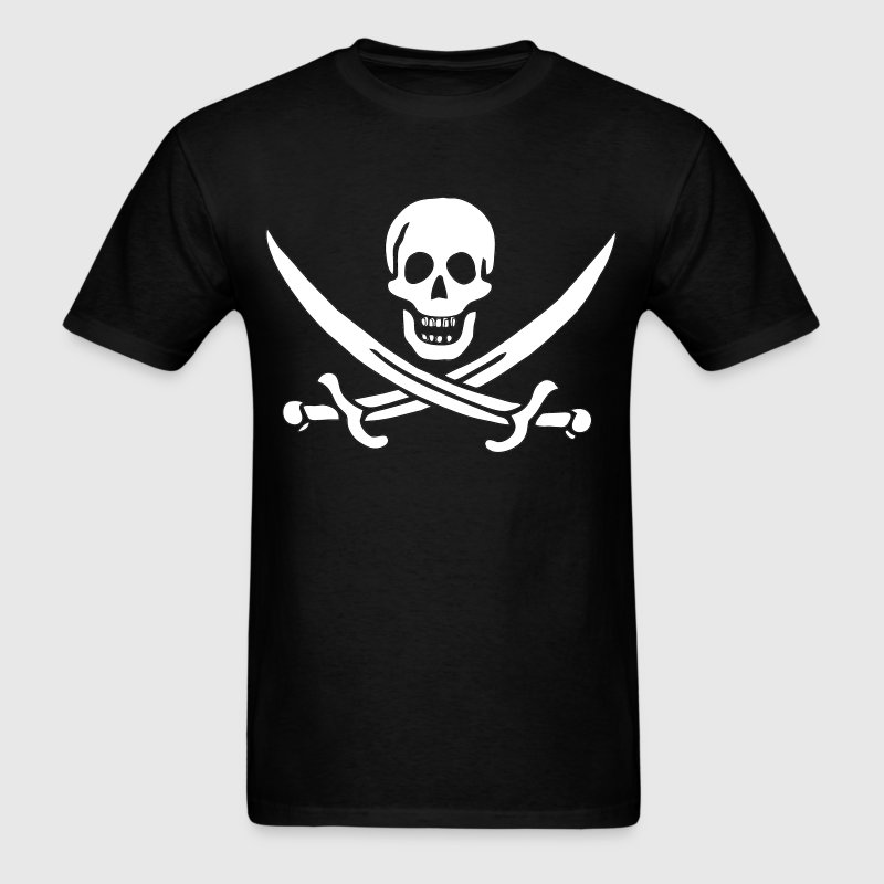 Jack Rackham Pirate Flag T-Shirts - Men's T-Shirt