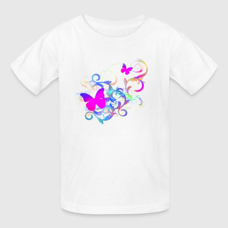 Butterfly Swirl - Kids' T-Shirt