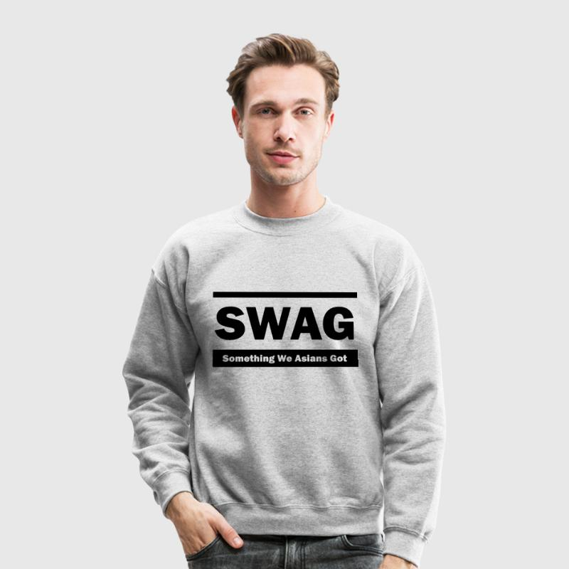 Swag (Something We Asians Got) Long Sleeve Shirts - Crewneck Sweatshirt