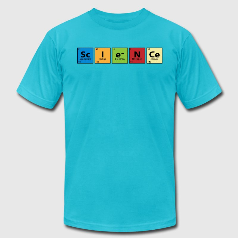Periodic Table Science T-Shirts - Men's Fine Jersey T-Shirt