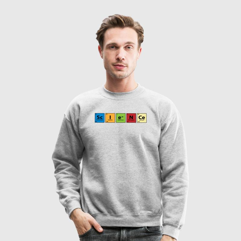 Periodic Table Science Long Sleeve Shirts - Crewneck Sweatshirt