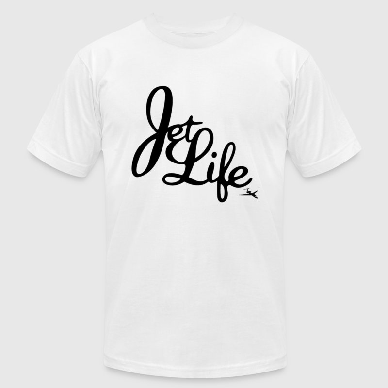 JET LIFE T-Shirts - Men's T-Shirt by American Apparel