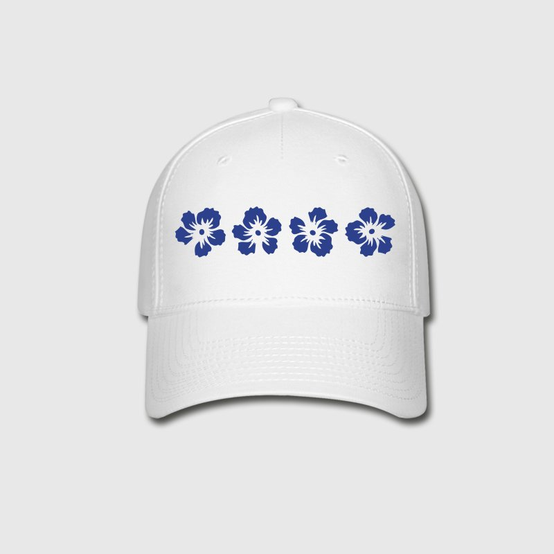 hawaii hibiscus flower Caps - Baseball Cap