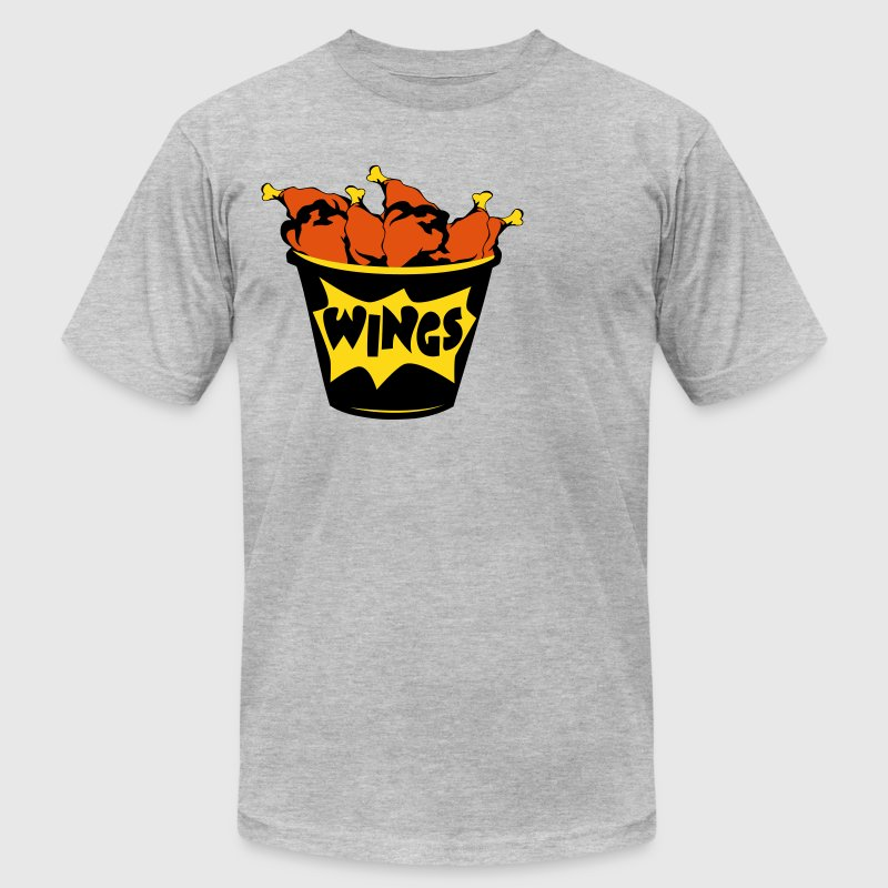 chicken wings  - Men's Fine Jersey T-Shirt