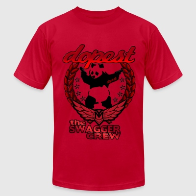 Dopest Panda - Men's T-Shirt by American Apparel