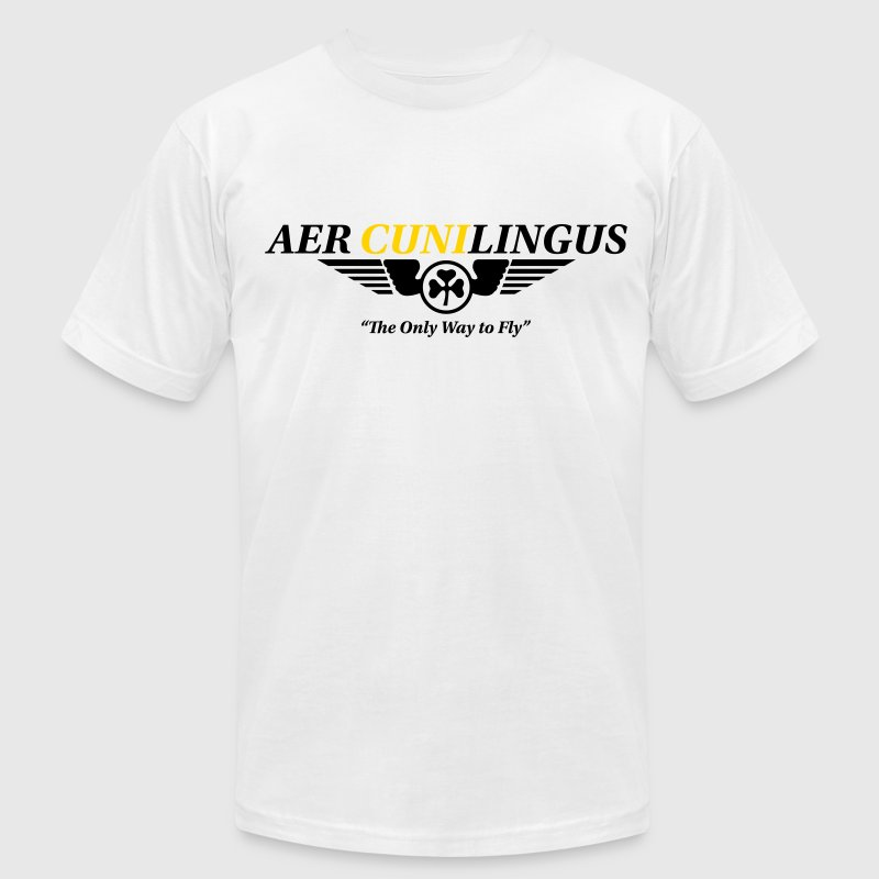 Aer Cuni-lingus T-Shirts - Men's T-Shirt by American Apparel
