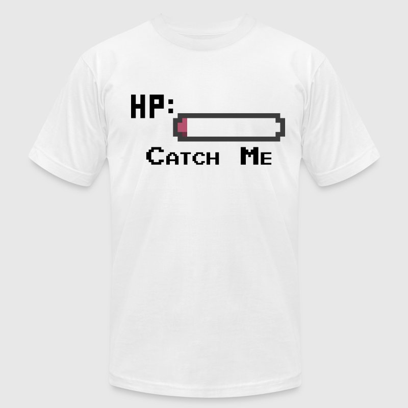 Catch me T-Shirts - Men's T-Shirt by American Apparel
