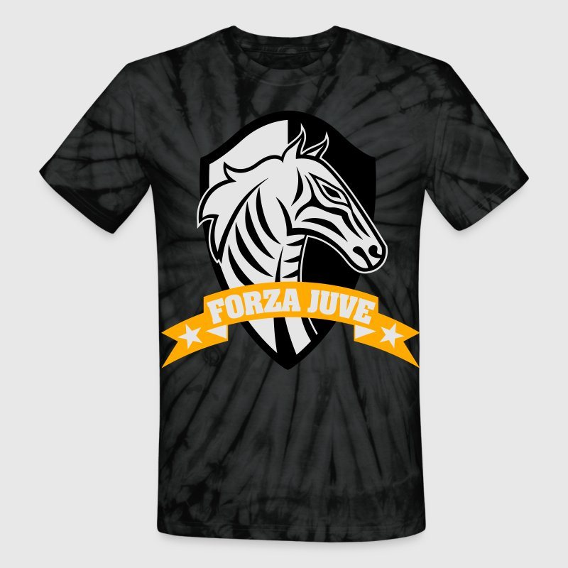 FORZA JUVE (COME ON JUVE)!!! 1897 TURIN - Unisex Tie Dye T-Shirt