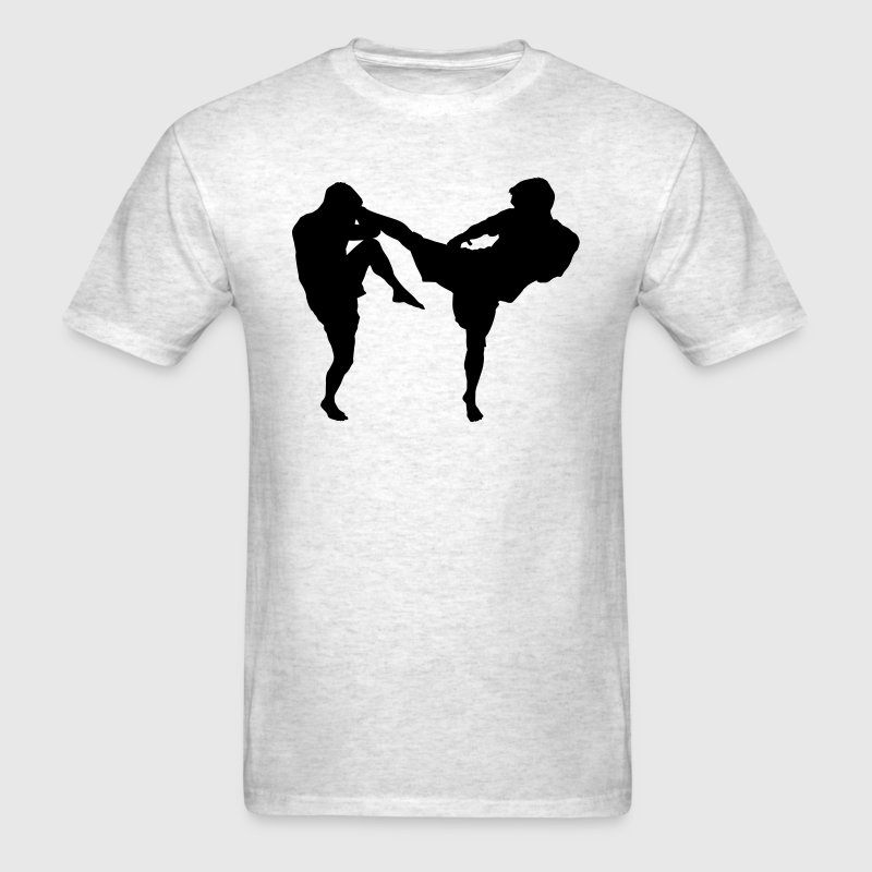 MMA Kick HD VECTOR T-Shirts - Men's T-Shirt