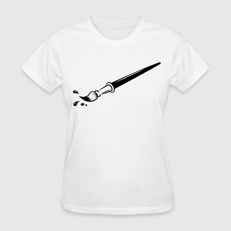 Paint Brush HD VECTOR Women's T-Shirts - Women's T-Shirt