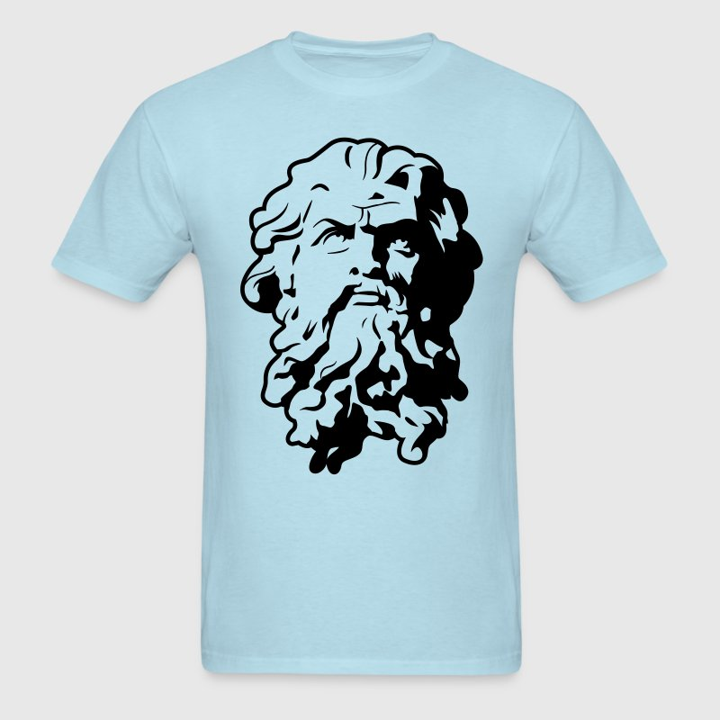 Poseidon HD VECTOR T-Shirts - Men's T-Shirt
