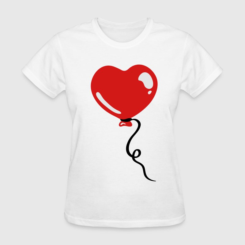 Heart balloon Women's T-Shirts - Women's T-Shirt