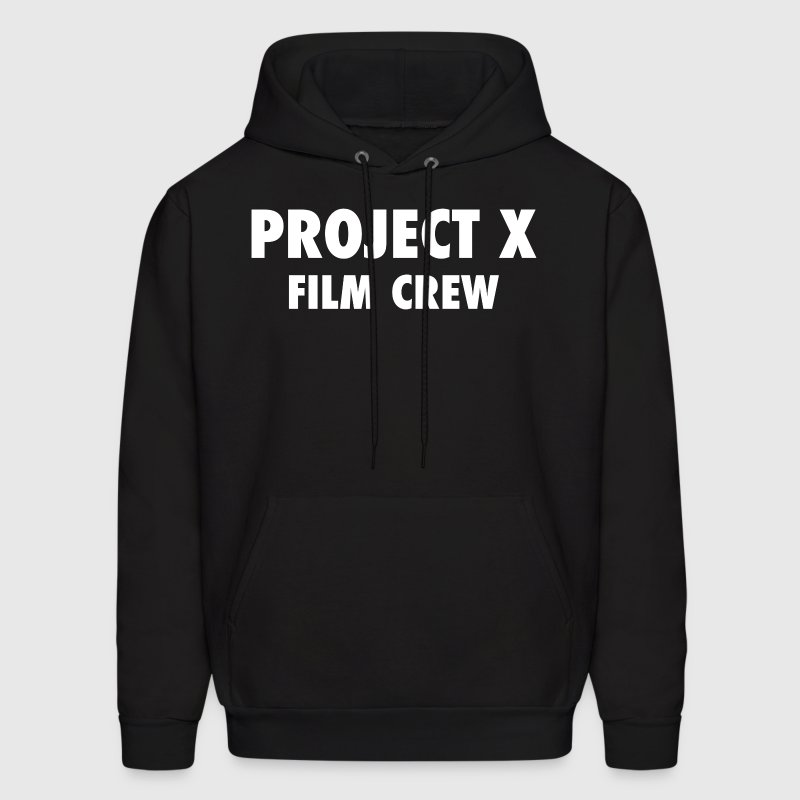 Project X Film Crew Design Hoodies - Men's Hoodie