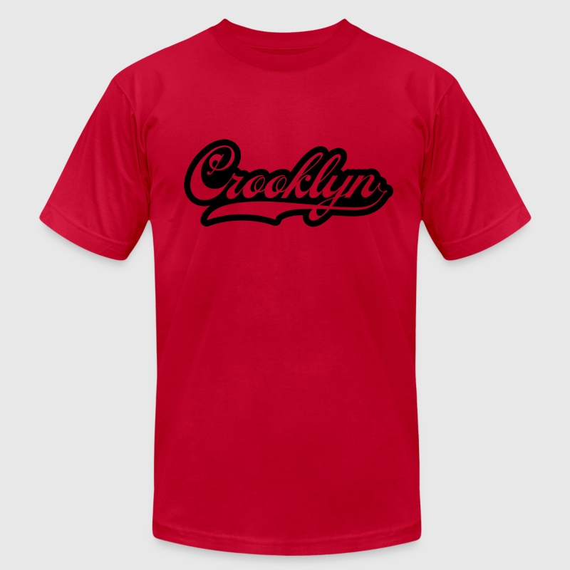 Crooklyn / Glow in the Dark T-Shirts - Men's T-Shirt by American Apparel