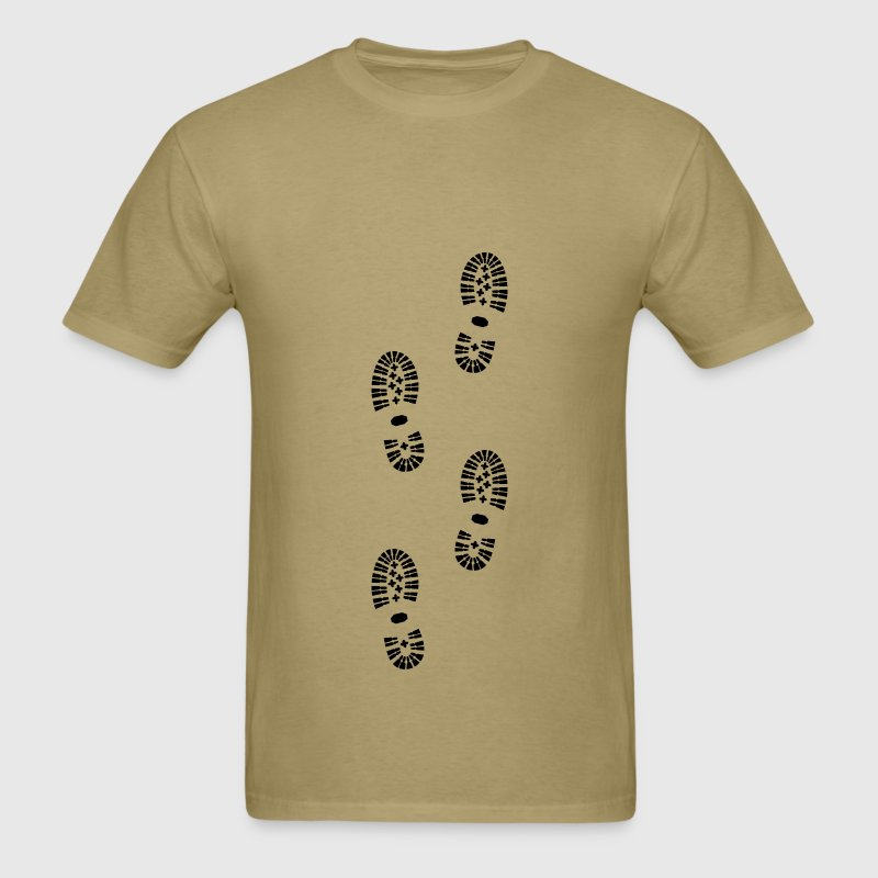 Shoes, Shoe Print, Hiking T-Shirts - Men's T-Shirt