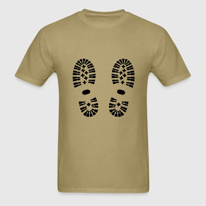 Shoes shoe print hiking t shirt spreadshirt for T shirt printing stonecrest mall