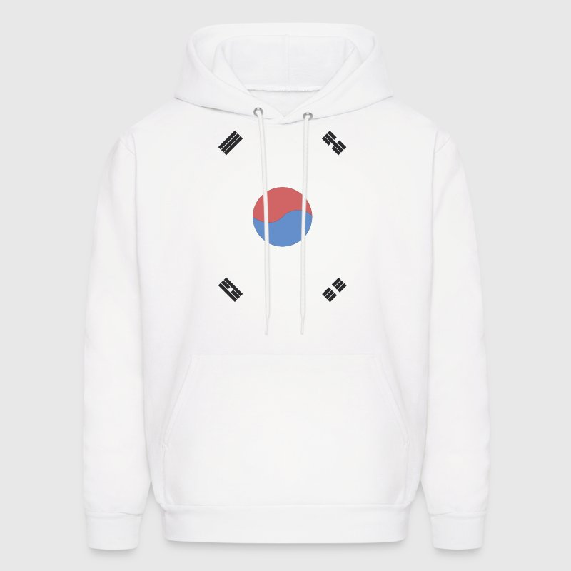South Korea Flag Hoodies - Men's Hoodie